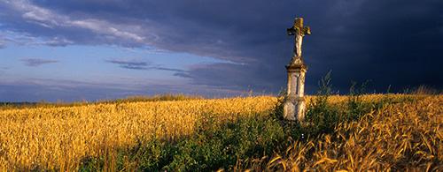 Architecture - Brusno gravestone carving